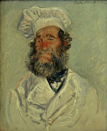 Monet / The cook (Monsieur Paul) / 1882 by AKG  Images
