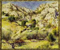 A. Renoir / Mountains near Estaque by AKG  Images