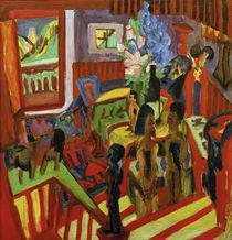 Ernst Ludwig Kirchner, Corner of the studio by AKG  Images