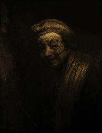 Rembrandt, Selbstbildnis um 1663/69 von AKG  Images