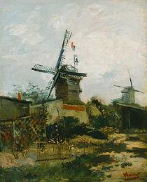 V. van Gogh, Windmühlen auf Montmartre von AKG  Images