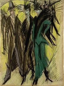 E.L.Kirchner / Berlin Street Scene by AKG  Images