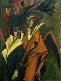 E.L.Kirchner / Two Women in the Street by AKG  Images