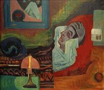 E.L.Kircher / Sick Man (Self-Portrait) by AKG  Images