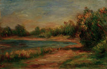 Renoir / Landscape in Guernesey by AKG  Images