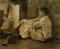 V. van Gogh, Woman Near Stove / Draw./1882 by AKG  Images