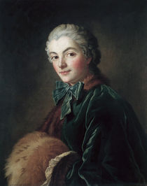 F.Boucher, Young Woman w. Muff / Paint. by AKG  Images