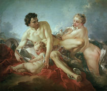 F.Boucher, Education of Cupid / Paint. by AKG  Images