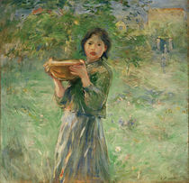 B.Morisot, The bowl of milk, 1890 by AKG  Images