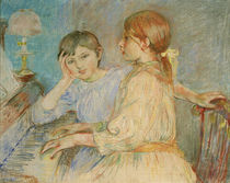 B.Morisot, The Piano / Painting 1888 by AKG  Images