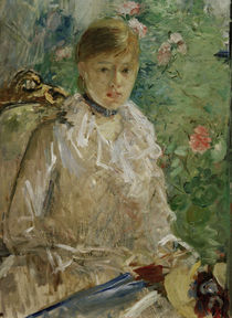B.Morisot, Young woman at window (Summer) by AKG  Images
