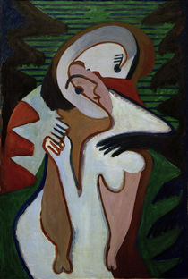 E.L.Kirchner / Couple – The kiss by AKG  Images