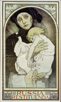 Russia restituenda / Poster by A.Mucha by AKG  Images