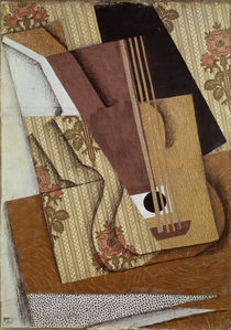 The Guitar / J. Gris / Collage 1914 by AKG  Images