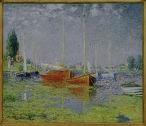 Monet, Freizeitboote bei Argenteuil von AKG  Images