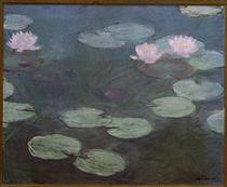 Claude Monet, Rosa Seerosen von AKG  Images