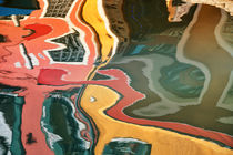 Spiegelung abstrakt von Bruno Schmidiger