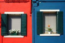 Rot und Blau by Bruno Schmidiger