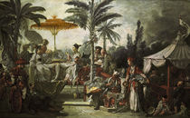 Boucher / Chinese Emperor's Feast / 1742 by AKG  Images