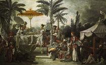 F.Boucher, Fest des Kaisers von China von AKG  Images