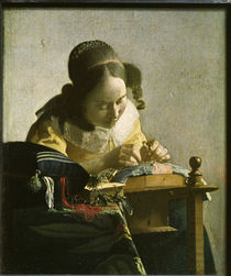 Vermeer / The Lacemaker by AKG  Images