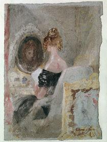 W.Turner, Frau vor dem Spiegel von AKG  Images