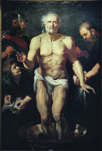 P.P.Rubens, The Dying Seneca / Paint. by AKG  Images