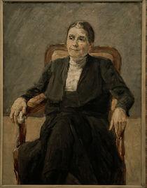 Max Liebermann / Portrait of Martha by AKG  Images