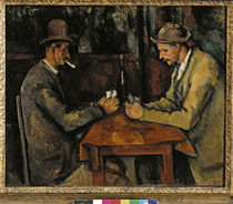 P.Cézanne / The card players / 1885–90 by AKG  Images
