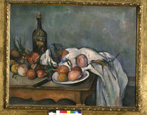 P.Cézanne / Still life with onions by AKG  Images