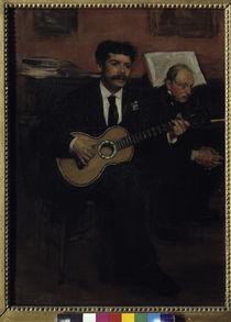 E.Degas, Lorenzo Pagans u. Auguste Degas von AKG  Images