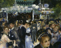A.Renoir, Moulin de la Galette / Detail by AKG  Images