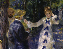 A.Renoir / The Swing / 1876 / Detail by AKG  Images