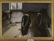 Caillebotte / The floor planers / 1875 by AKG  Images