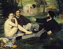 Edouard Manet, Déjeuner sur l'herbe/1863 von AKG  Images