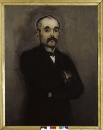 Georges Clemenceau / Painting by Manet by AKG  Images