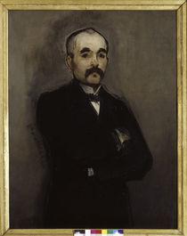 Georges Clemenceau / Gem. v. Manet von AKG  Images