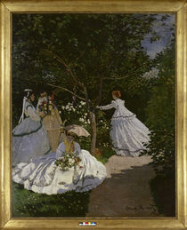 Claude Monet / Women in a garden / 1867 by AKG  Images
