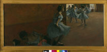 Degas / Dancers on Staircase / Ptg./ 1886 by AKG  Images