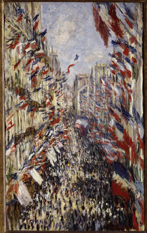 C.Monet, Rue Montorgeuil on 30 June 1878 by AKG  Images