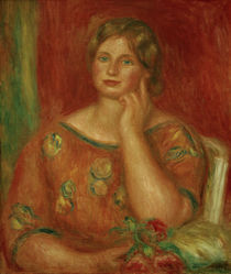 Renoir / Gertrud Osthaus / Painting by AKG  Images