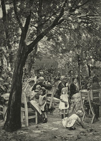 Liebermann, Biergartenkonzert von AKG  Images