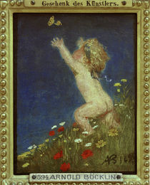 A.Böcklin / Nude Child/ 1895 by AKG  Images