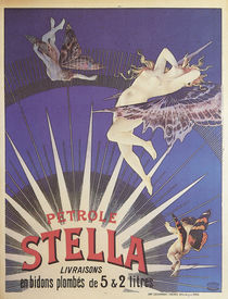 Stella Petroleum / Plakat 1897 von AKG  Images