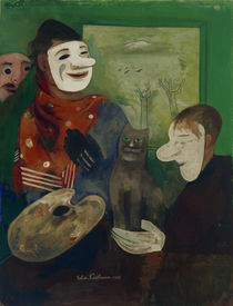 Masks and Cats / F. Nussbaum / Painting 1935 by AKG  Images