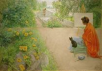 The Bridge / C.Larsson / Painting, 1912 by AKG  Images