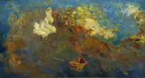 O.Redon, Apollo's Chariot / Paintng /  c. 1908 by AKG  Images
