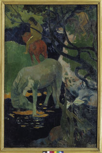 Gauguin / The white horse / 1893 by AKG  Images