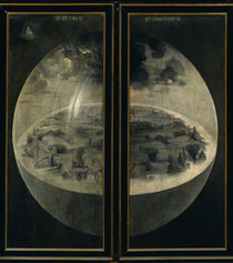 The Creation of the World / H. Bosch /  Triptych, by AKG  Images