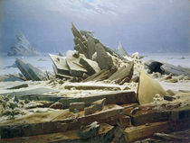 C.D.Friedrich, Arctic Ship Wreck/1823 by AKG  Images